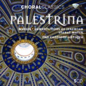 Pro Cantione Antiqua, Mark Brown, Bruno Turner: Palestrina: Masses, Lamentations of Jeremiah, Stabat Mater - CD