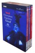 Verdi: Il trovatore; Rigoletto; Falstaff - DVD