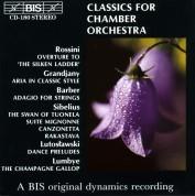 Stockholm Sinfonietta, Jan-Olav Wedin, Helsinki Chamber Orchestra, Leif Segerstam: Classics for Chamber Orchestra, Vol.1 - CD