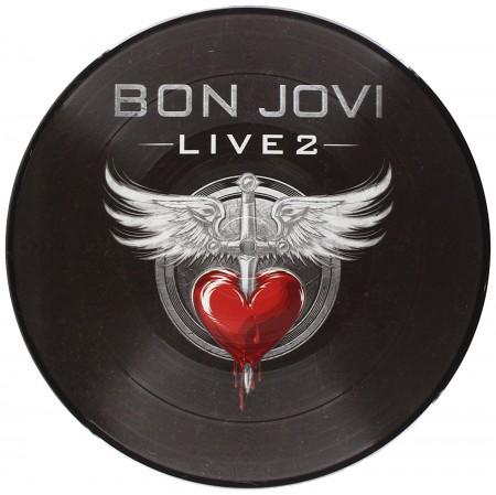 Bon Jovi: Live 2 (Picture Disc) 10'' - Single Plak