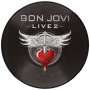 Bon Jovi: Live 2 (Picture Disc) 10'' - Single Plak