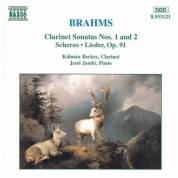 Brahms: Clarinet Sonatas - CD
