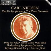 Neeme Järvi, Myung-Whun Chung, Göteborgs Symfoniker: Nielsen - The Six Symphonies - CD