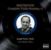 Joseph Fuchs: Beethoven, L. Van: Violin Sonatas (Complete), Vol. 1 (Fuchs, Balsam) - Nos. 1-4 (1952) - CD