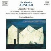 Arnold, M.: Violin Trio, Op. 54 / Violin Sonatas Nos. 1 and 2 / Cello Fantasy, Op. 130 - CD