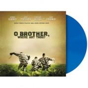 Çeşitli Sanatçılar: O Brother Where Art Thou (Blue Vinyl) - Plak