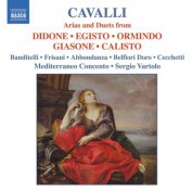 Cavalli: Arias and Duets From Didone, Egisto, Ormindo, Giasone and Calisto - CD