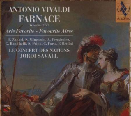 Le Concert des Nations, Jordi Savall: Antonio Vivaldi: Farnace (Extraits) (Arie Favorite) - CD