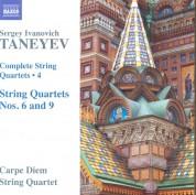 Carpe Diem String Quartet: Taneyev: Complete String Quartets Vol 4 - CD