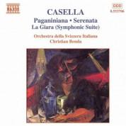 Christian Benda: Casella: Paganiniana - Serenata - La Giara Suite - CD