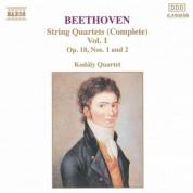 Kodály Quartet: Beethoven: String Quartets Op. 18, Nos. 1 and 2 - CD