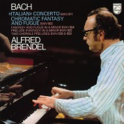 Alfred Brendel: Bach: Italian Concerto, Chromatic Fantasy and Fugue - Plak