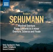 Gerard Schwarz: Schumann: Manfred: Overture - Piano Concerto - Overture, Scherzo and Finale - CD