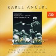Dagmar Baloghova, Karel Ancerl, Sviatoslav Richter: Prokofiev: Symphony No. 1, Piano Concertos 1&2 - CD