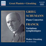Walter Gieseking: Gieseking - Concerto Recordings, Vol. 1 - CD