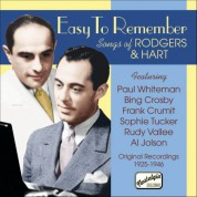 Rodgers, Richard: Easy To Remember - Songs of Richard Rodgers and Lorenz Hart (1925-1946) - CD