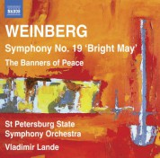 Vladimir Lande, St. Petersburg Symphony Orchestra: Weinberg: Symphony No. 19 - The Banners of Peace - CD