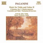 Scott St. John: Paganini: Music for Violin and Guitar, Vol. 2 - CD