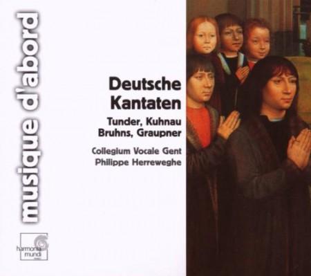 Collegium Vocale Gent, Philippe Herreweghe: German Baroque Cantatas before Bach - CD