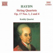 Haydn: String Quartets Op. 17, Nos. 1, 2 and 4 - CD