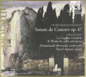 Emmanuelle Bertrand, Pascal Amoyel: Alkan: Cello Sonata op.47 - CD