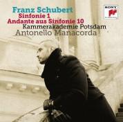 Kammerakademie Potsdam, Antonello Manacorda: Schubert: Sinfonie 1; Andante aus Sinfonie 10 - CD
