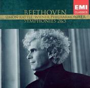 Wiener Philharmoniker, Sir Simon Rattle: Beethoven: Symphonies No. 2, 5 - CD