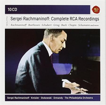 Sergey Vasilievich Rachmaninov: Rachmaninoff: Complete RCA Recordings - CD