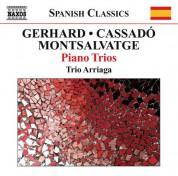 Trio Arriaga: Gerhard, Montsalvatge & Cassado: Piano Trios - CD