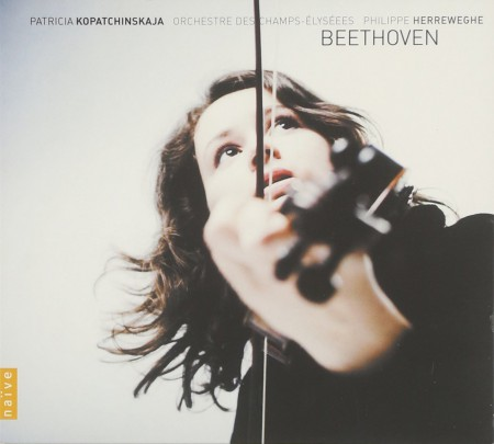 Patricia Kopatchinskaja, Orchestre des Champs-Élysées, Philippe Herreweghe: Beethoven: Complete Works for Violin & Orchestra - CD