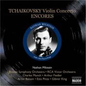 Nathan Milstein: Tchaikovsky: Violin Concerto / Encores (Milstein) (1949-53) - CD