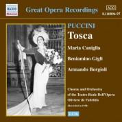 Puccini: Tosca (Gigli, Caniglia) (1938) - CD