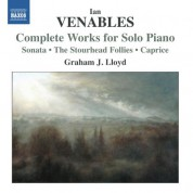 Graham J. Lloyd: Venables: Complete Works for Solo Piano - CD
