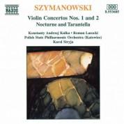 Szymanowski: Violin Concertos Nos. 1 and 2 - CD