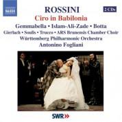 Antonino Fogliani: Rossini: Ciro in Babilonia - CD