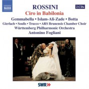 Antonino Fogliani: Rossini: Ciro in Babilonia - CD