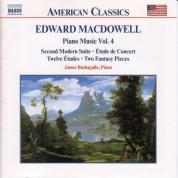 Macdowell: Second Modern Suite / Etude De Concert / 12 Etudes - CD