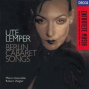 Ute Lemper, Matrix Ensemble, Robert Ziegler: Berlin Cabaret Songs - CD