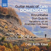 Celil Refik Kaya: Guitar Music of Carlo Domeniconi - CD