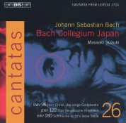 Masaaki Suzuki, Bach Collegium Japan: J. S. Bach - Cantatas, Vol.26 (BWV 180,122 and 96) - CD