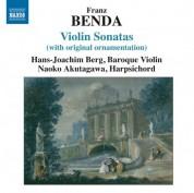 Hans-Joachim Berg: Benda: Violin Sonatas - CD