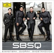 Simón Bolívar String Quartet: Ginastera/ Shostakovich/ Dvořák: String Quartets - CD
