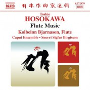 Kolbeinn Bjarnason: Hosokawa: Flute Music - CD