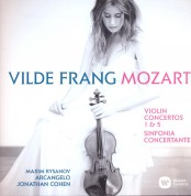 Vilde Frang, Maxim Rysanov, Arcangelo, Jonathan Cohen: Mozart: Violin Concertos 1 & 5, Sinfonia Concertane - CD