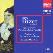 Academy of St. Martin in the Fields, Sir Neville Marriner: Bizet: Symphony in C, L'Arlesinenne-Suites 1 & 2 - CD