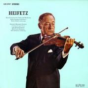 Jascha Heifetz: Rozsa: Violin Concerto / Benjamin - Romantic Fantasy - Plak