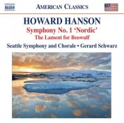 Gerard Schwarz: Hanson: Symphony No. 1, 'Nordic' - The Lament for Beowulf - CD