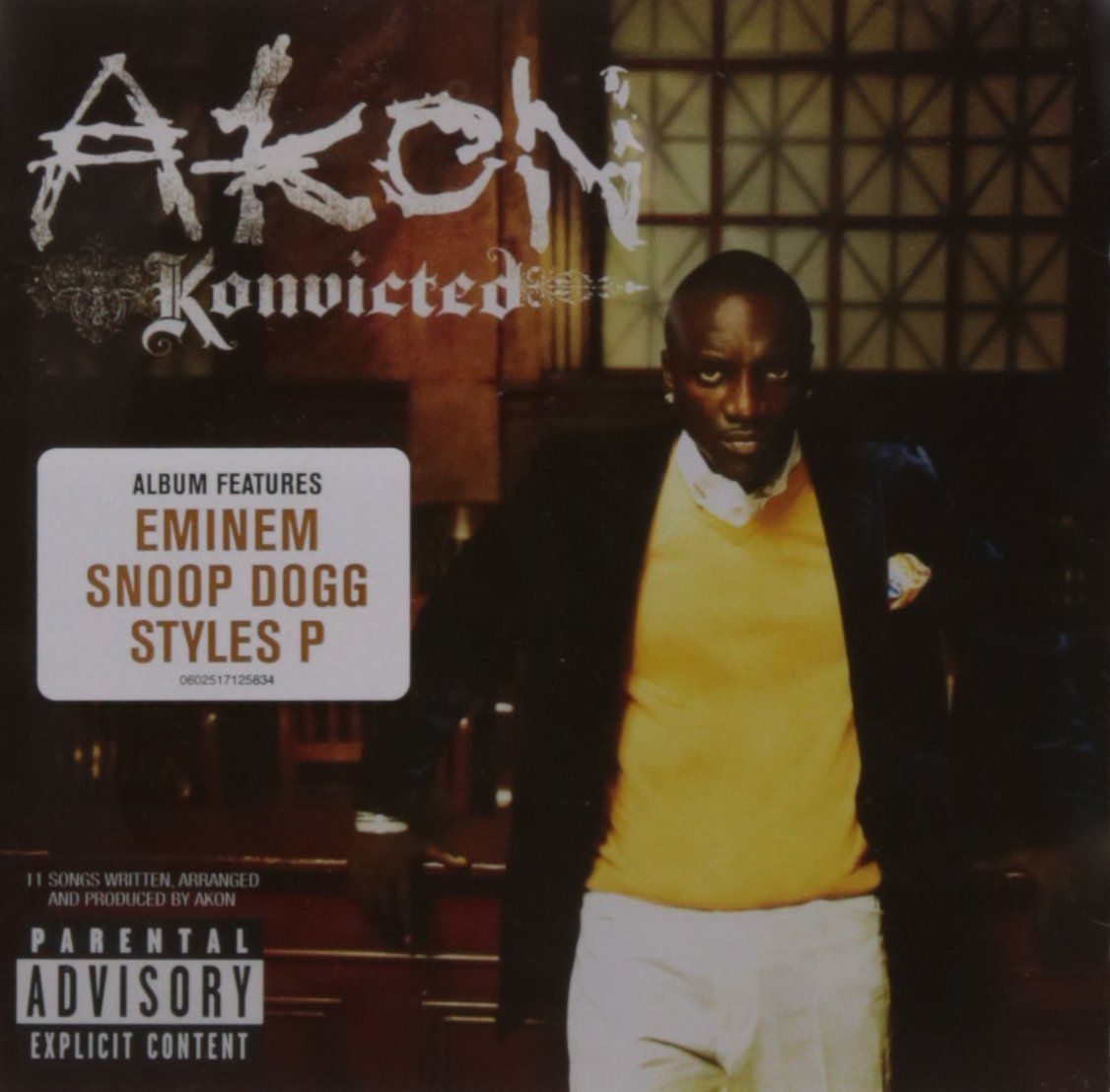 Akon: Konvicted - CD - Opus3a