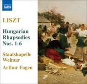 Arthur Fagen: Liszt: 6 Hungarian Rhapsodies, S359/R441 - CD