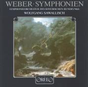 Wolfgang Sawallisch, Symphonieorchester des Bayerischen Rundfunks: Weber: Symphony No. 1 - 2 - Plak
